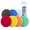 Chemical Guys BUF_HEX_KITS_8P Hex-Logic Buffing Pad Kit (5.5 Inch) (8 Items)