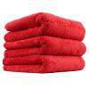 Chemical Guys MIC35103 Happy Ending Edgeless Microfiber Towel, Red (16 in. x 16 in.) (Pack of 3)