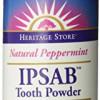 IPSAB Tooth Powder Peppermint – 4 Ounce Powder
