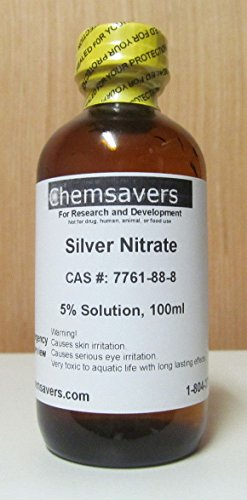 Silver Nitrate 5 Solution 100ml Albochemicals